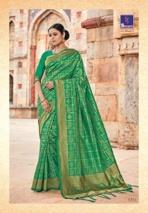 Shangrila Saree Kutch Silk 5351