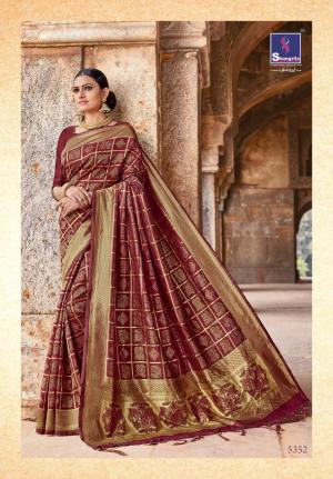 Shangrila Saree Kutch Silk 5352