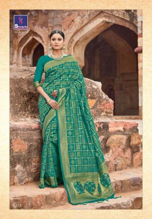 Shangrila Saree Kutch Silk 5353