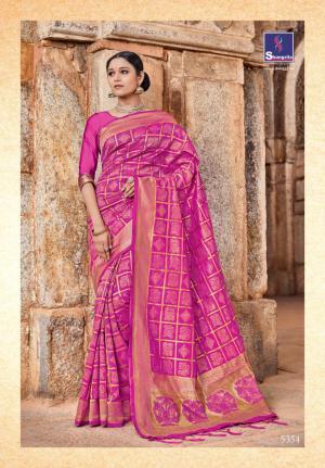 Shangrila Saree Kutch Silk 5354