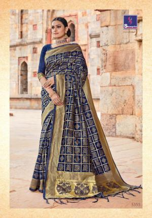 Shangrila Saree Kutch Silk 5355
