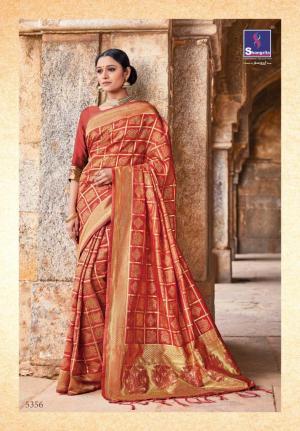 Shangrila Saree Kutch Silk 5356