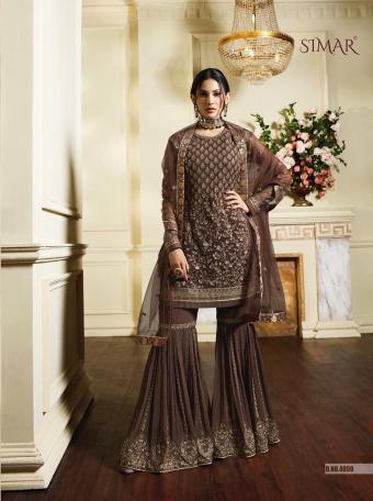 Glossy Simar Amyra Vibha wholesale Salwar Kameez catalog