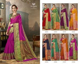 Triveni Saree Sasiya wholesale saree catalog