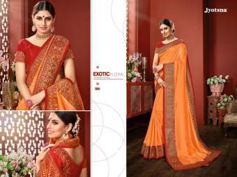 Jyotsna Super 7 Series wholesale saree catalog