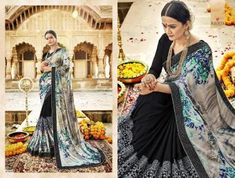 Kalista Fashion Autograph Vol-1 wholesale saree catalog