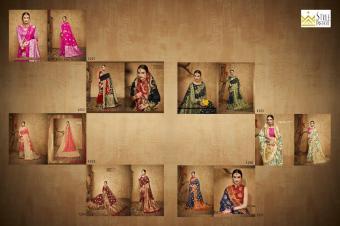 Style Instant Kesar Silk wholesale saree catalog