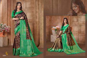 Jyotsna Kanjivaram Silk Vol-3 wholesale saree catalog