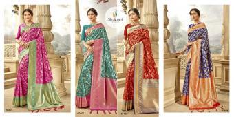 Shakunt Saree Meenal wholesale saree catalog