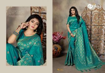 FG Zarikaz Pihuu Vol-7 wholesale saree catalog