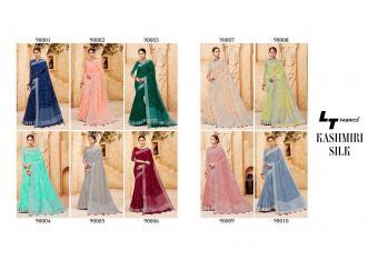 Lt Fabrics Nitya Kashmiri Silk wholesale saree catalog