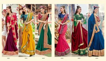 Saroj Saree Fanna wholesale saree catalog