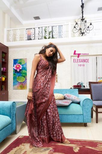 LT Fabrics Elegance wholesale saree catalog