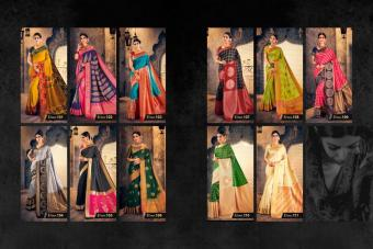 Raj Sanskar Chakrika Silk wholesale saree catalog