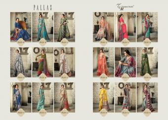 T&M Pallas wholesale saree catalog
