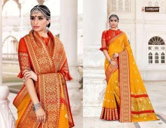 Sangam Saree Abhilasha wholesale saree catalog