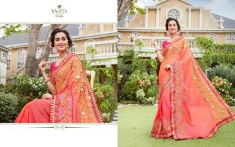 Kalista Fashions Dream Collection wholesale saree catalog
