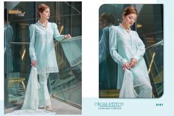 Shree Fabs Cross Stitch Chikankari Collection wholesale Salwar Kameez catalog