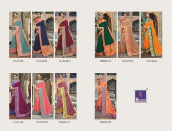 Shangrila Saree Manyavar Silk wholesale saree catalog