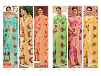 Saroj Saree Swagatam wholesale saree catalog