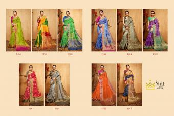 Style Instant Banarasi Silk wholesale saree catalog