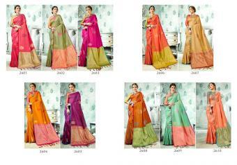 Vaamika Fashions Parnica Silk wholesale saree catalog