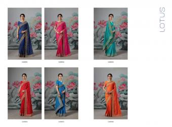 Saroj Saree Lotus wholesale saree catalog