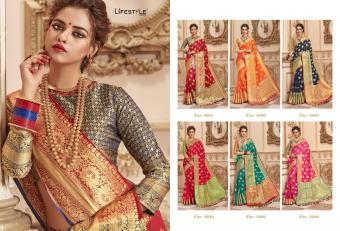 Lifestyle Banarasi Silk Vol-3 wholesale saree catalog