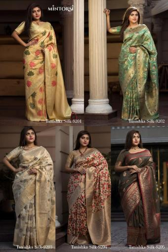 Mintorsi Tanishka Silk wholesale saree catalog