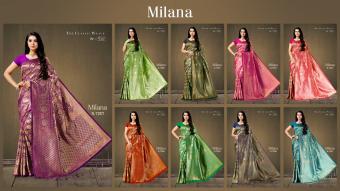 Aura Saree Milana wholesale saree catalog