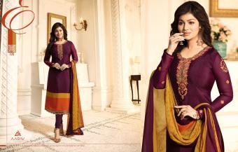Aarav Trendz Silky Premium Vol Wholesale Salwar Kameez Catalog