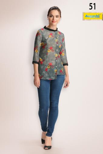 Aayushi Fashions Spot Light Wholesale Kurtis Catalog