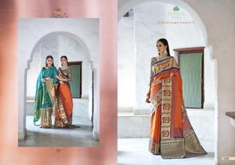 Bhumi Fashion Liza Silk Wholesale Saree Catalog