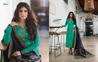 Fiona Kritika  Jecquard Dupatta Wholesale Salwar Kameez Catalog