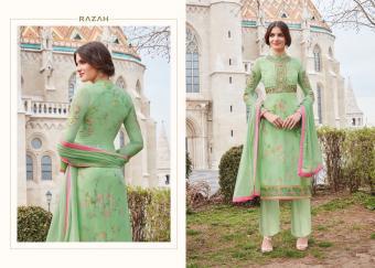 JDPL Jinaam Dress Razah Brenda 4055 Wholesale Salwar Kameez Catalog