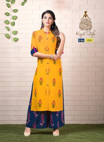 Kajal Style Fashion Biba Vol 1 Wholesale Kurtis Catalog