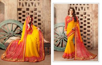 Kessi Fabrics Bandhej Vol 8 Wholesale Sarees Catalog Wholesale Catalog