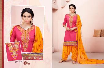 Kessi Fabrics Bridal Patiala House Wholesale Salwar Kameez Catalog
