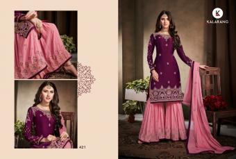 Kessi Kalarang Amira Wholesale Salwar Kameez Catalog
