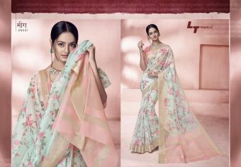 LT Fabrics Glance Wholesale Sarees Catalog Wholesale Catalog