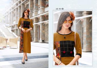 Manya Autograph Vol 2  Wholesale Kurtis Catalog
