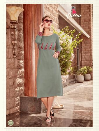 Parra Studio Panchi Wholesale Kurtis Catalog