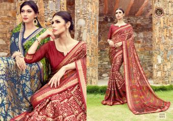 Rekha Maniyar Fashion Frankey Wholesale Sarees Catalog Wholesale Catalog