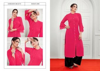 S More Fashion  Laser Wholesale Kurtis Catalog