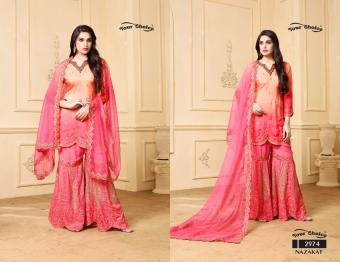 Your Choice  Nazakat Wholesale Salwar Kameez Catalog