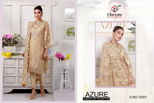 Charizma Designer Azure Luxury Eid Collection wholesale Salwar Kameez catalog
