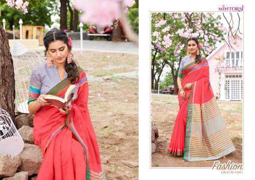 Varsiddhi Fashions Mintorsi Gracie wholesale saree catalog