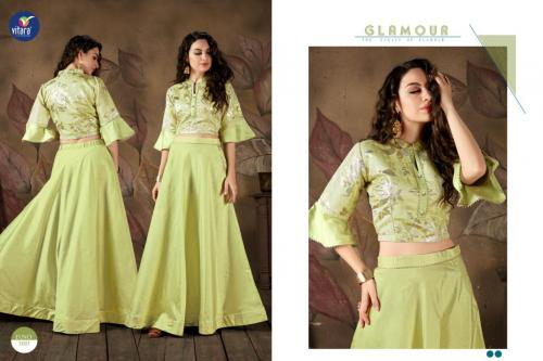 Vitara Fashion Magic-5 wholesale Kurti catalog