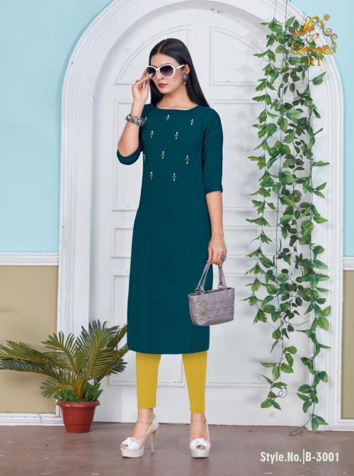 Rijiya Trendz Blaze wholesale Kurti catalog