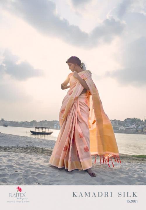 Rajtex Saree Kamadri Silk wholesale saree catalog